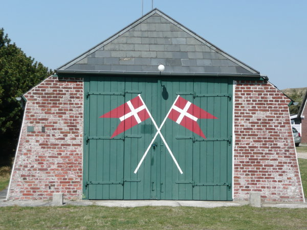 Barn: Danish rescue station at Fanoe