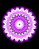 purple mandala