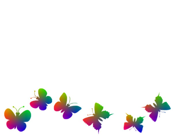 Butterfly Border: A cute rainbow coloured border of butterflies, suitable for a card or background. You may prefer this:  http://www.rgbstock.com/photo/nXVBQBO/Golden+Butterfly+Border