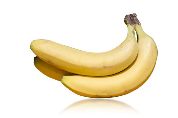 Bananas: Bananas isolated