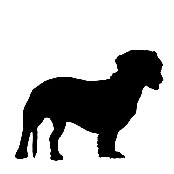 Silhouettes dachshund: you can choose: