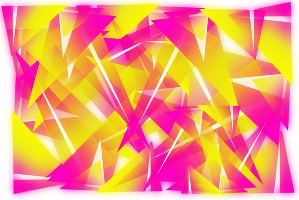 Abstract yellow/pink backgroun: abstract background