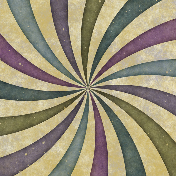 Grungy Retro Burst 1: A retro, swirly grungy burst. Great design element, fill, texture or background.