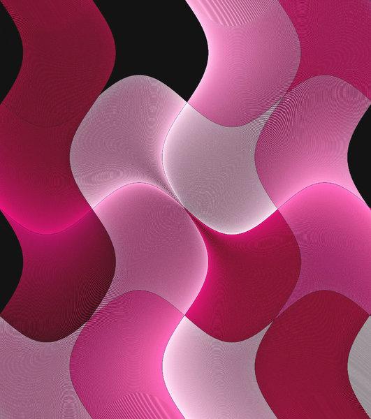 Pink Light Wave