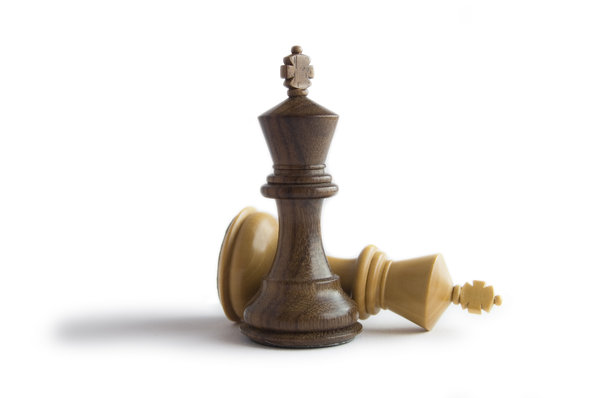Chess Kings: Two kings from a chess set