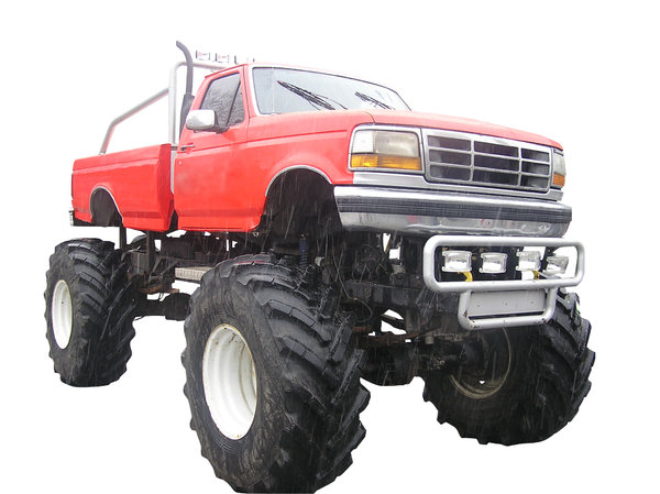 Monster Truck: A Monster Truck from Poland.