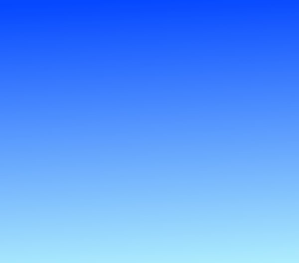 Blue Gradient Sky: A blue gradient sky or background. Can be used in many ways.