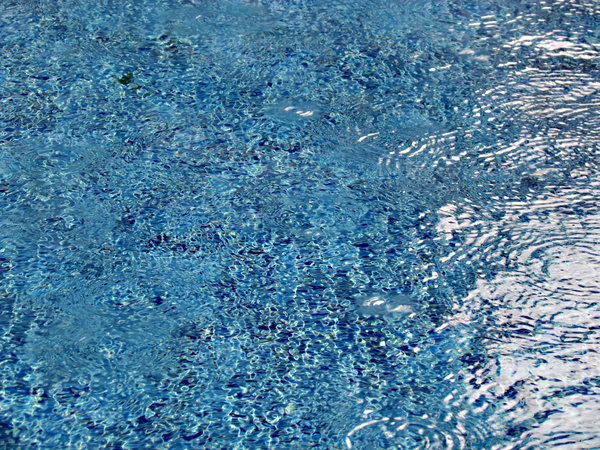 pool ripples & reflections: swimming pool water movements