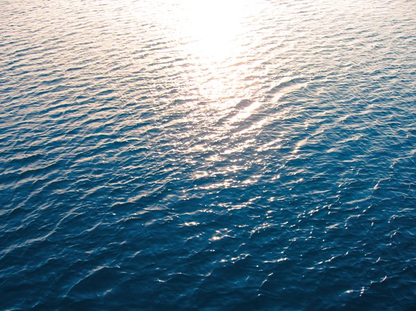 sunlight on the sea: sunlight on the sea