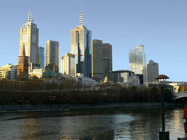 City of Melbourne by the Yarra: no description