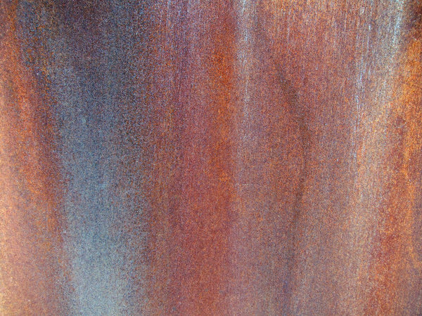 Rust: Rusted metal.