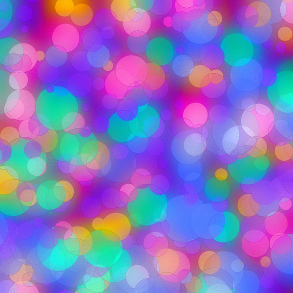 Textured Coloured Discs 2: A rainbow of colours in metallic textured discs, spots, dots or circles. Great party background. Great festive texture or background. Needs to be seen in the large version to appreciate the texture.