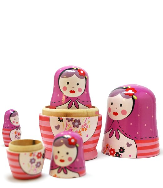 matrioska russian dolls #4: no description