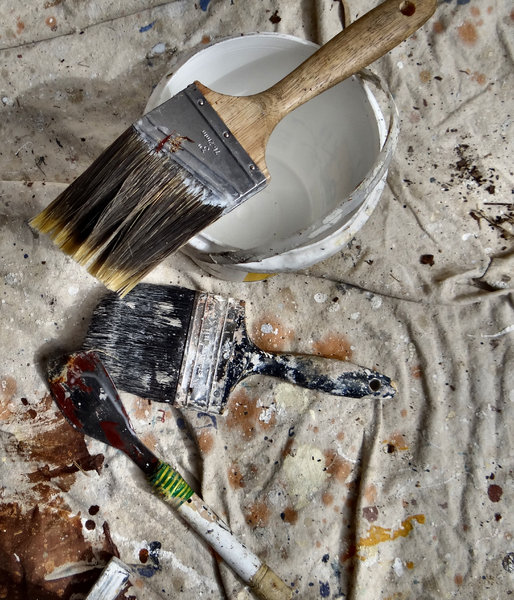painter at work1: painting tradesman tools