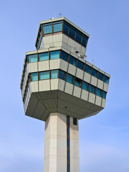 berlin TXL airport tower: berlin TXL airport tower
