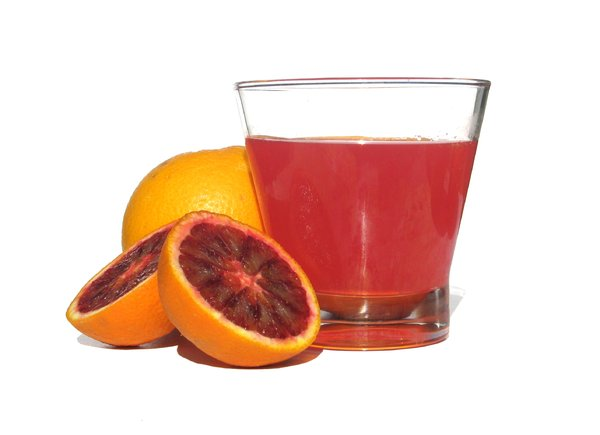 red orange juice: none