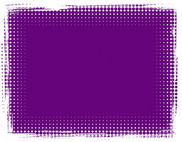 Dot Banner 9: A purple banner or background with a grungy dotted border.