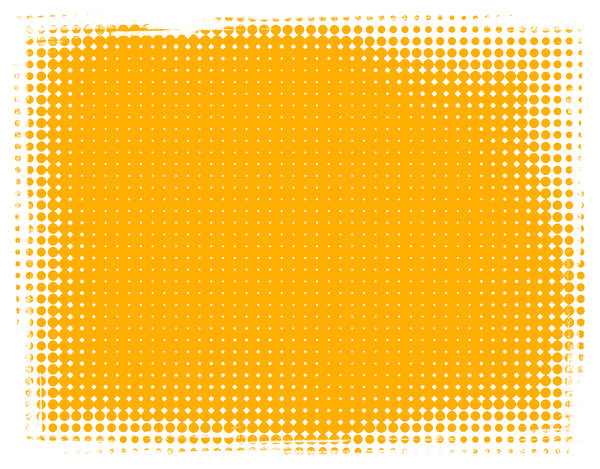 Dot Banner 11: A warm yellow banner or background with a grungy dotted border.