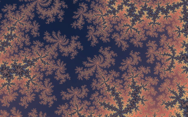 Fractal Tapestry: Detail of Mandelbrot set - created with Fractile Plus on iPhone