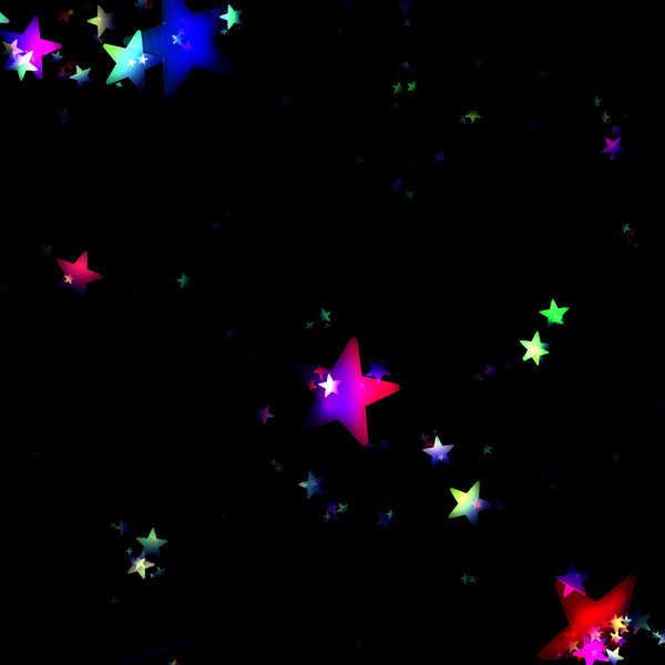 Black And Blue Stars Backgrounds Lots of Stars 5