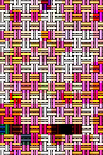 interlaced tubes1: abstract backgrounds, textures, patterns, geometric patterns, shapes and perspectives from altering and manipulating images