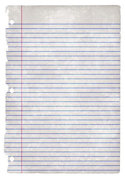 lined paper template .