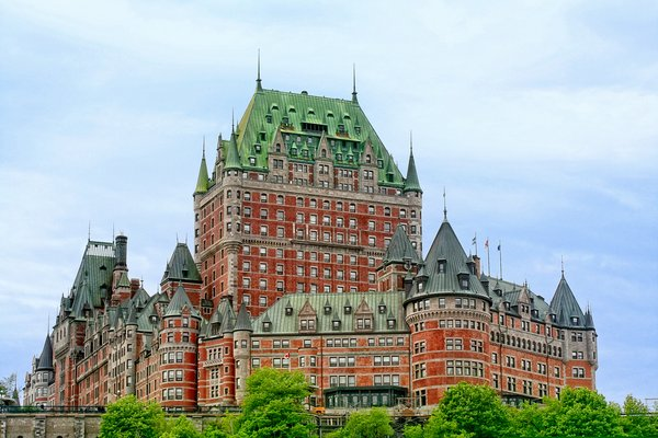 Chateau Frontenac: Chateau Frontenac in Quebec City, Quebec Canada.