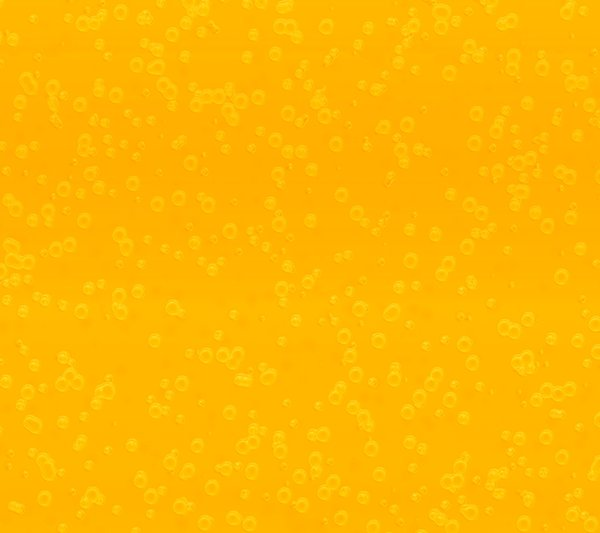 Bubbly Background Yellow: Effervescent, bubbly background, texture or fill.