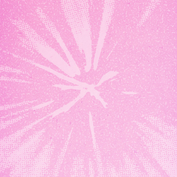 Girly Grunge: A pink abstract background.