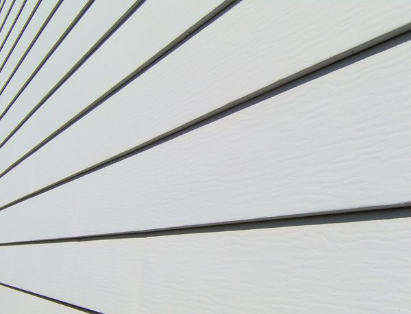 Aluminum Siding: Cool shot of some aluminum siding.