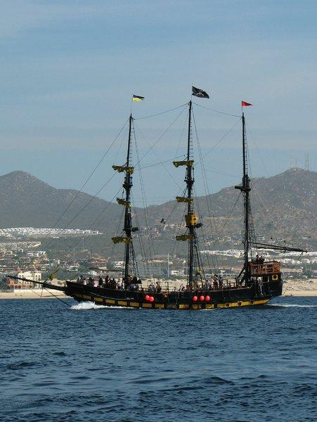 piraten schattenjacht machine