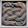 decorative wooden snake