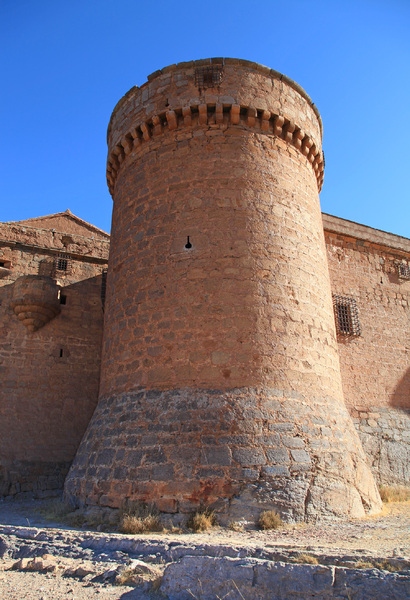 Castle elements: Spanish castle. La Calahorra.