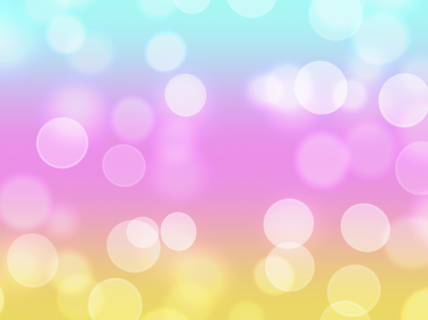 Bokeh or Blurred Lights 1: Bokeh, or blurred background lights in pastel colours. Suitable for a background, Christmas greetings, holiday greetings, texture, or fill.