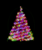 Glowing Christmas Tree 1