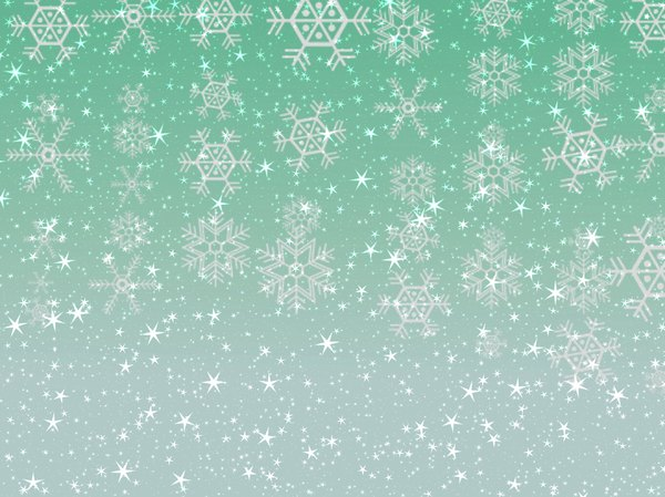 Stars Snowflakes Background 7: Sparkly stars and snowflakes on a coloured background. Great Christmas atmosphere. You may prefer:  http://www.rgbstock.com/photo/nPLQVKW/Sparkles+and+Snowflakes+4  or:  http://www.rgbstock.com/photo/2dyVRmp/Snowflake+Design+Background