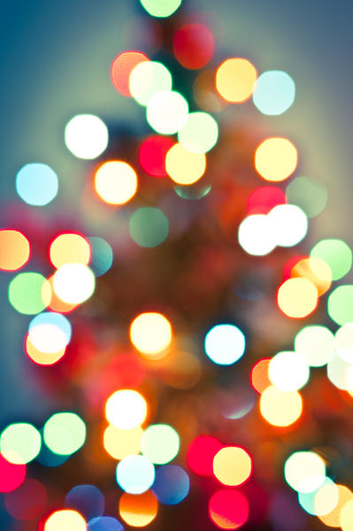 Christmas Lights Bokeh 3: Photo of christmas lights bokeh