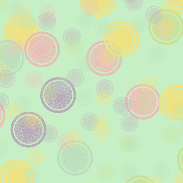 Globe Pattern 3: A colourful modern pattern, useful for a background, fill, texture, etc. High resolution.