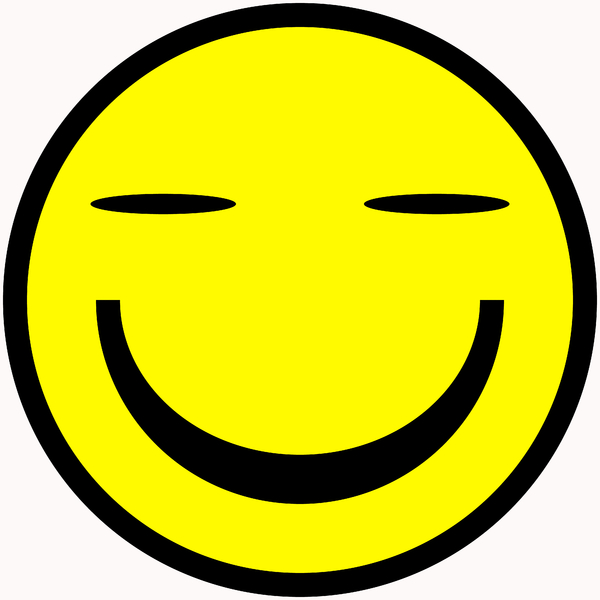 Smiley Face 3: Classic smiley face symbol. Great for emoticons, icons, illustrations, buttons, etc.