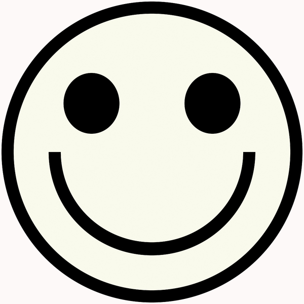Smiley Face 1: Classic smiley face symbol. Great for emoticons, icons, illustrations, buttons, etc.