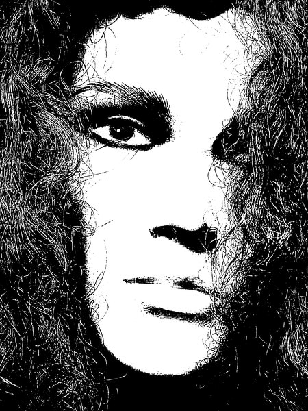 Grunge Portrait Woman 10: A sketchy, grungy closeup of a woman's face. Made from an image of a mannequin courtesy Dennis Hill. You may prefer: http://www.rgbstock.com/photo/nN715W4/Woman%27s+Face+Poster or http://www.rgbstock.com/photo/nN73XNa/Sketch+of+Woman%27s+Face
