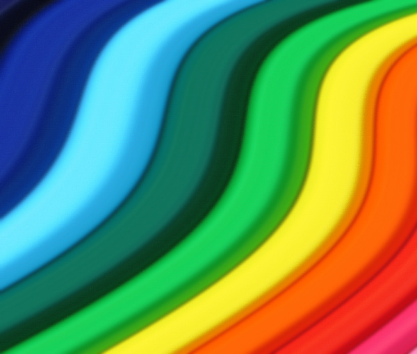 Colour Waves 1: Variations on an abstract background.