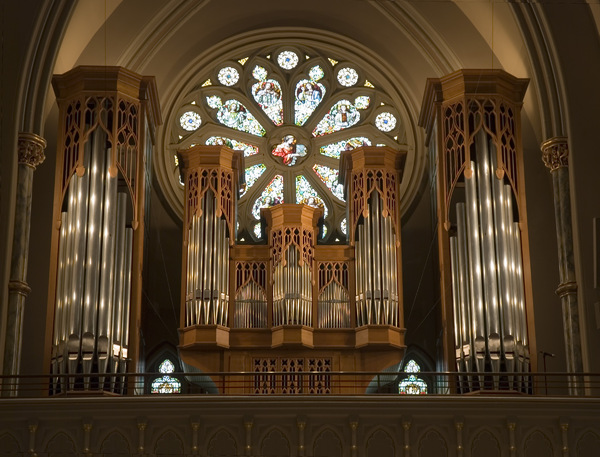 Cathedral Organ: From Savannah Cathedral, Georgia, USA