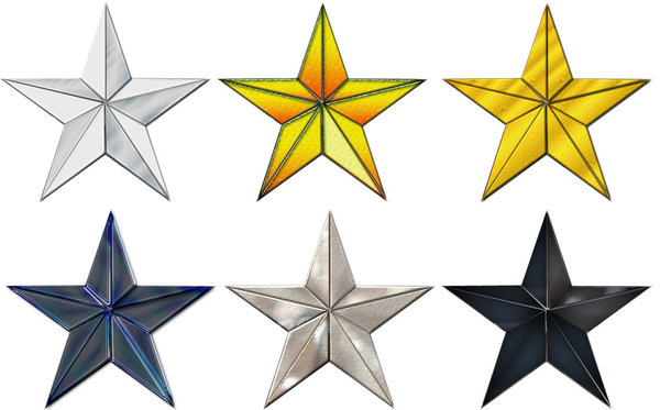 Stars: Useful for graphic design work