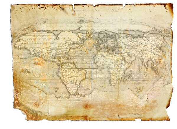 Antique World Map: Antique Map