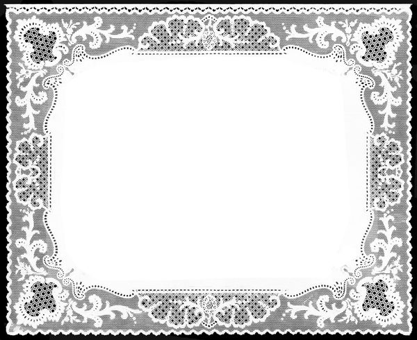 English Lace Border: Nottingham paper lace