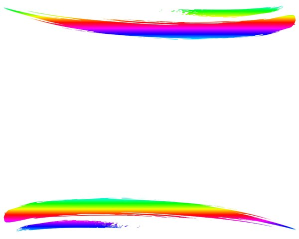 Rainbow Swoosh 2: A blank canvas with an attention-getting double rainbow swoosh. Use creatively and within RGBStock's image licence. You may prefer this: http://www.rgbstock.com/photo/nGMI0Ey/Rainbow+Swirls+2  or this:  http://www.rgbstock.com/photo/2dyXm9r/Waves+6