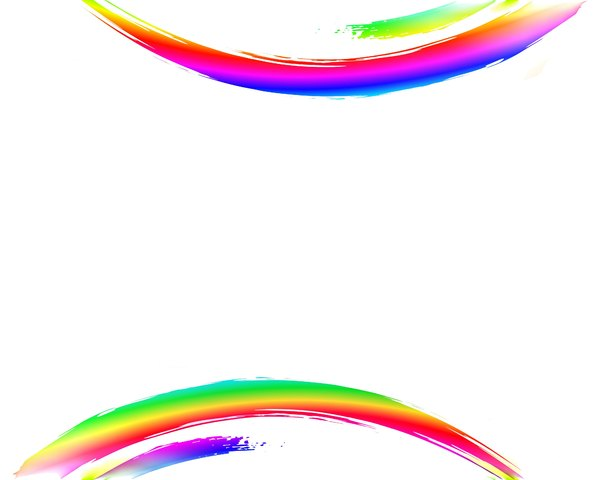 Rainbow Swoosh 4: A blank canvas with an attention-getting double rainbow swoosh. Use creatively and within RGBStock's image licence. You may prefer this: http://www.rgbstock.com/photo/nGMI0Ey/Rainbow+Swirls+2  or this:  http://www.rgbstock.com/photo/2dyXm9r/Waves+6