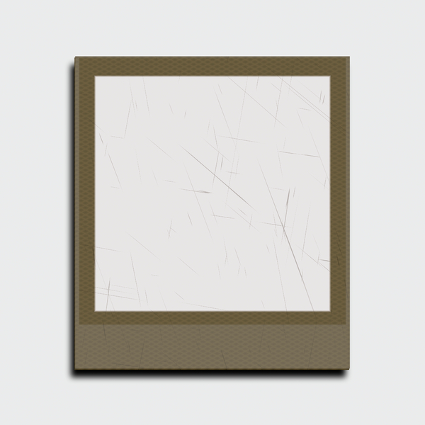 Photo Frame 3: A blank Polaroid-style photo frame in a neutral colour. Hi-res image. You may prefer this:  http://www.rgbstock.com/photo/nHORIpQ/Polaroid+Frame