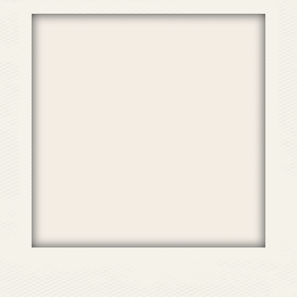 Photo Frame 5: A blank Polaroid-style photo frame in a neutral colour. Hi-res image. You may prefer this:  http://www.rgbstock.com/photo/nHORIpQ/Polaroid+Frame